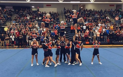 HHS Cheer Competition