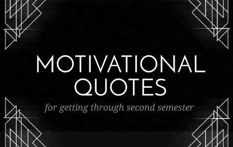 Motivation for the second semester