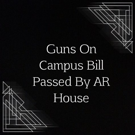 Guns On Campus Bill Passed By AR House