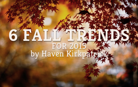 6 Fall Trends for 2015