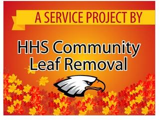 HHS Community Leaf Rake