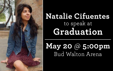 Natalie Cifuentes to speak at graduation