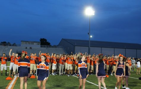 Varsity Football: Northside Scrimmage