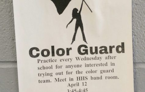 Color Guard Practices for Tryouts