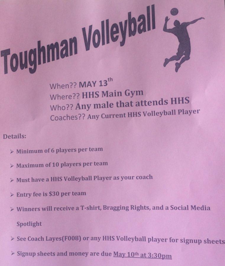 Toughman Volleyball