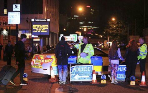 Manchester bombing at an Ariana Grande concert