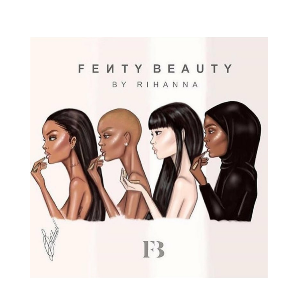 Queen RiRi Stole Coins With Fenty Beauty