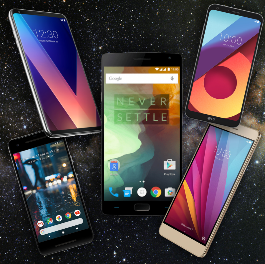 5 Best Budget Phones for 2018