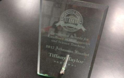 Heritage Teacher Receives Prestigious Award