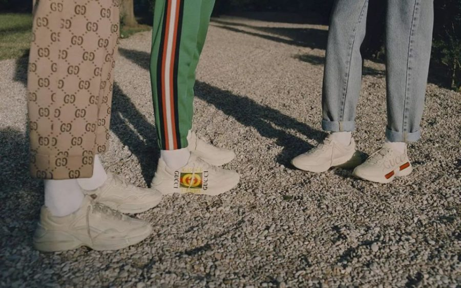 It all start with the kicks. Italian fashion dons at Gucci have released several models of shoes that are chunkier and have a wider silhouette-perfect for the dad aesthetic.