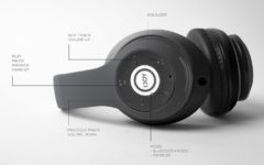 Mpow has outdone themselves with these best-selling, top notch wireless headphones, nearly indistinguishable from those of more price-heavy brands.