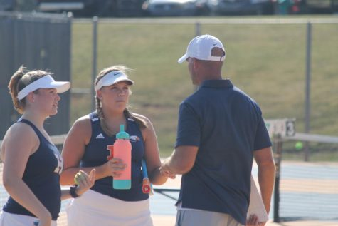 Varsity Tennis Experiences Mixed Results Against Southside