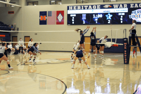 Varsity Volleyball Falls to Southside