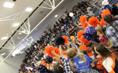 A Heritage High pep rally in November 2019